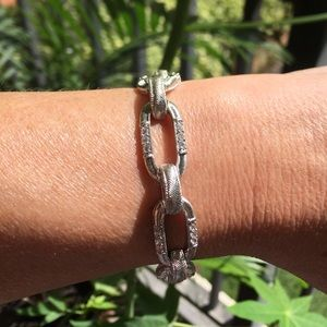 Judith Ripka Sterling Silver CZ 925 Bracelet 💋💕